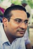 Portret Mr. s.C.Mittal, założyciel Pushpanjali Trad Zdjęcia Stock