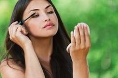 portret naga piękna kobieta Obrazy Royalty Free