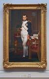 Portret Napoleon, national gallery Zdjęcie Royalty Free