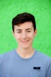Portret nastolatka buntowniczy mężczyzna zdjęcia royalty free