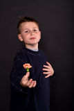 Portret nastoletni fotografia stock