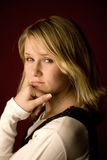 portret nastoletni Fotografia Royalty Free