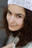 Portret nastoletnia dziewczyna obraz royalty free