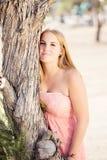 Portret nastoletnia dziewczyna Zdjęcie Royalty Free