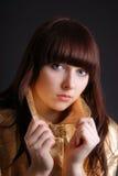 Portret nastoletnia dziewczyna Zdjęcie Stock