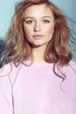 Portret nastoletnia dziewczyna Fotografia Royalty Free