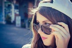 Portret nastoletnia dziewczyna obrazy royalty free