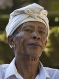 Portret niezidentyfikowany mężczyzna Bali wyspa, Indonezja Zdjęcie Stock