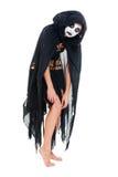 portret okrutna czarownica Zdjęcie Royalty Free