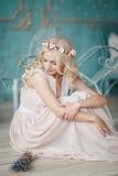 Portret panna młoda Zdjęcia Royalty Free