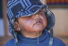 Portret Peruwiański dziecko Zdjęcia Stock