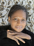 Portret piękna Afrykańska kobieta, Senegal Zdjęcie Stock