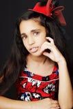 Portret piękna Afrykańska mała dziewczynka Zdjęcie Royalty Free