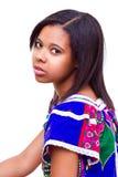 Afro amerykanina dziewczyna Fotografia Stock