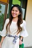 Portret Piękna azjatykcia kobieta fotografia royalty free