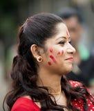 Portret Piękna Bengalska kobieta fotografia royalty free