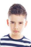 Portret piękna chłopiec Zdjęcia Royalty Free