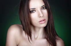 Portret piękna dziewczyna. obrazy royalty free