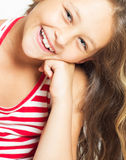Portret piękna dziewczyna Zdjęcie Royalty Free