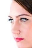 Portret piękna kobieta zdjęcia stock