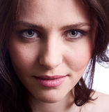 portret piękna kobieta Zdjęcie Stock