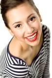 Portret Piękna Młoda Kobieta Zdjęcie Stock