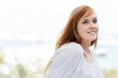 Portret piękna młoda kobieta Obrazy Stock