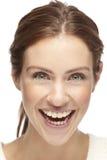 Portret piękna młoda kobieta, ono uśmiecha się obrazy royalty free