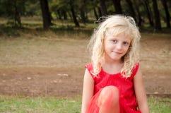 portret pięknego dziecka Obraz Stock