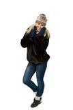 Portret pięknej blondynki dziewczyny Slawistyczny pozować Fotografia Stock