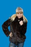 Portret pięknej blondynki dziewczyny Slawistyczny pozować Zdjęcia Stock