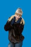 Portret pięknej blondynki dziewczyny Slawistyczny pozować Obraz Stock