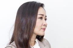 Portret piękni 40-50 rok Bizneswomanów pracować obraz royalty free