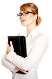 portret piękna biznesowa kobieta Obraz Royalty Free