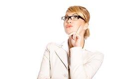 portret piękna biznesowa kobieta Fotografia Stock