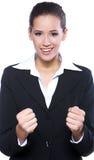 portret piękna biznesowa kobieta Zdjęcia Royalty Free