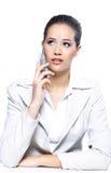 portret piękna biznesowa kobieta Zdjęcie Stock