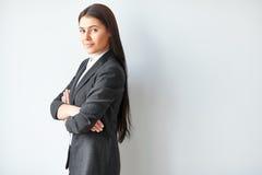 Portret piękna biznesowa kobieta Obraz Stock