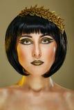 Portret piękna dziewczyna Obrazy Stock