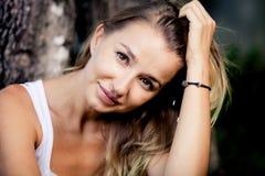 Portret piękna dziewczyna obraz stock