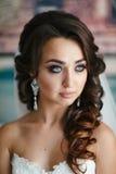 Portret piękna dziewczyna Zdjęcia Royalty Free