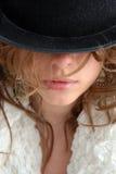 portret piękna kobieta Obraz Royalty Free