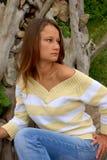 portret piękna kobieta obrazy royalty free