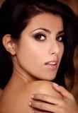 portret piękna kobieta Zdjęcia Royalty Free