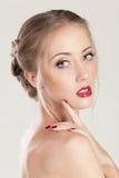 Portret piękna kobieta Fotografia Royalty Free