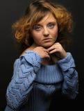 portret piękna kobieta obrazy stock