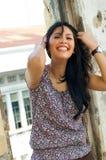 portret piękna plenerowa kobieta Fotografia Royalty Free