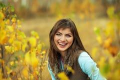 portret piękna plenerowa kobieta Zdjęcie Stock