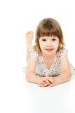 Portret piękny dziecko Zdjęcia Royalty Free
