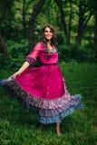 Portret piękny dziewczyny gypsy Fotografia Stock